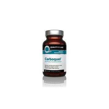 Quality Of Life Labs - Carboquel Weight Control Support - 60 Vegetarian Capsules