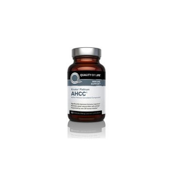 Kinoko Platinum 750 mg AHCC Quality of Life Labs 60 VCaps