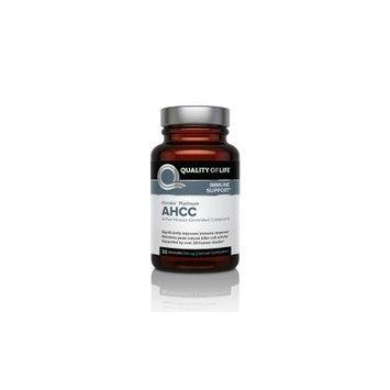 Quality Of Life Labs - Kinoko Platinum AHCC Immune Support - 30 Vegetarian Capsules