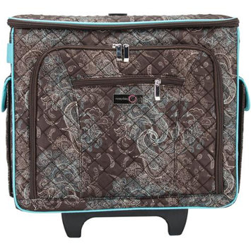 Everything Mary Quilted Rolling Sewing Tote