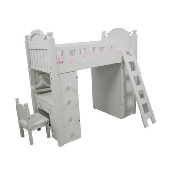 Teamson Kids Bunk Bed for 18