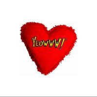 Yeowww/ducky World Yeowww Catnip Hearrrt Attack Heart Shaped Cat Toy