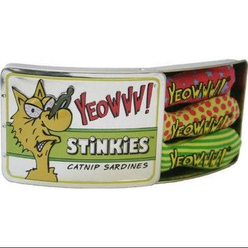Duckyworld Products, Inc. Yeowww! Catnip Tin of Stinkies Cat Toys