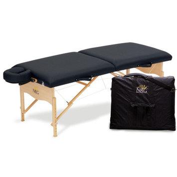 Massage Warehouse NRG Shui Black Massage Table