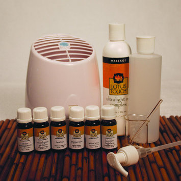 Massage Warehouse Lotus Touch Premium Aromatherapy Package