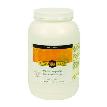 Massage Warehouse Lotus Touch Multi-Purpose Cream 1/2 gal