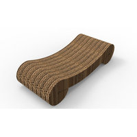 Merry Products TOY0042002000 Cat Scratcher Replacement Bed