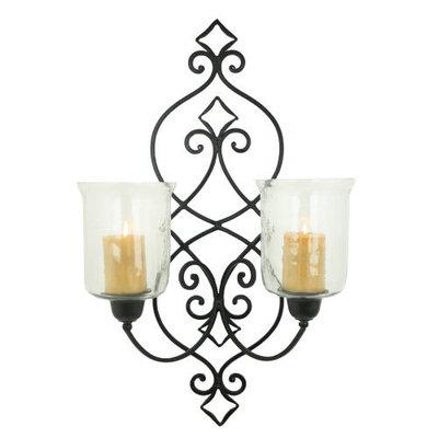 Aspire Gema Candle Wall Sconce, Black - 3806