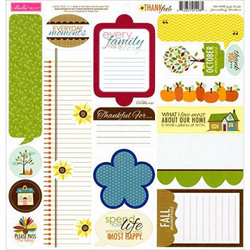 Bella Blvd Thankful Cardstock Stickers 12
