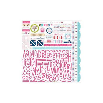 Bella Blvd Kiss Me Cardstock Stickers 12