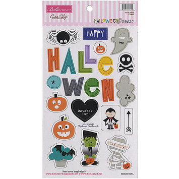 Bella Blvd HWM812 Halloween Magic Chipboard Icons