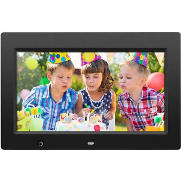 Aluratek 10 Inch Digital Photo Frame With Motion Sensor And 4GB Built-in Memory - 10 Lcd Digital Frame - Black - 1024 X 600 - Cable - 169 - Autostart Slideshow, Slideshow, Background (admsf310f)