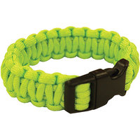 Ultimate Survival Technologies 7 in. Paracord Bracelet - Lime