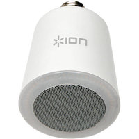 Ion Audio - Sound Shine Portable Bluetooth Light Bulb Speaker - White