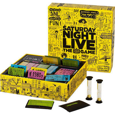 Discovery Bay Games Saturday Night Live Board Game Ages 12 and up, 1 ea
