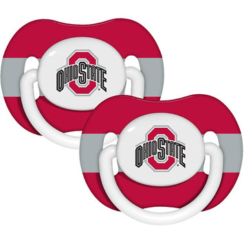 Baby Fanatic Ohio State Buckeyes Pacifier 2-Pack