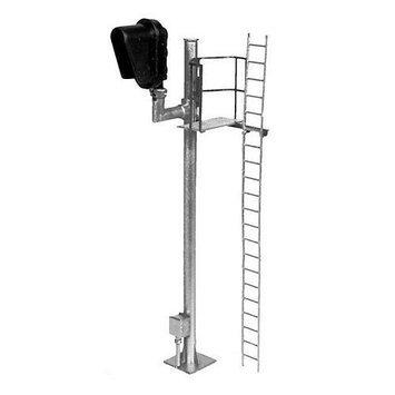 HO Modern 1-Head Right-Hand Block Signal, Lighted BLM4038 BLMA MODELS
