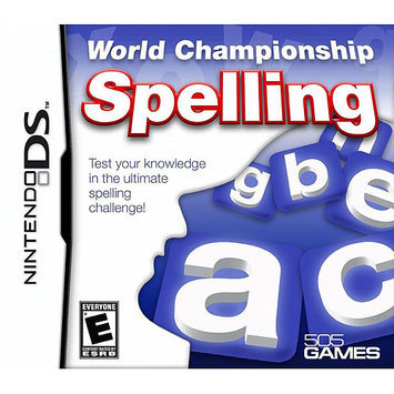 Games World Championship Spelling (DS)