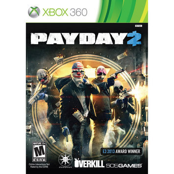 505 Games 71501159 Payday 2 X360