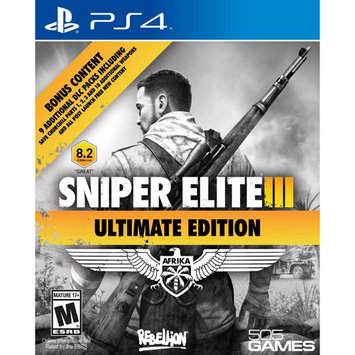 505 Games PS4 - Sniper Elite III Ultimate Edition