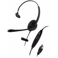 Addasound Crystal Sr2701 Headset - Mono - USB - Wired - Over-the-head - Monaural - Supra-aural (add-crystal-sr2701)