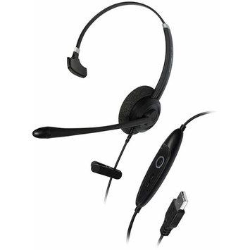 Addasound Crystal Sr2701 Headset - Mono - USB - Wired - Over-the-head - Monaural - Supra-aural (add-crystal-sr2701)