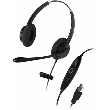 Addasound Crystal Sr2702 Headset - Stereo - USB - Wired - Over-the-head - Binaural - Supra-aural (add-crystal-sr2702)