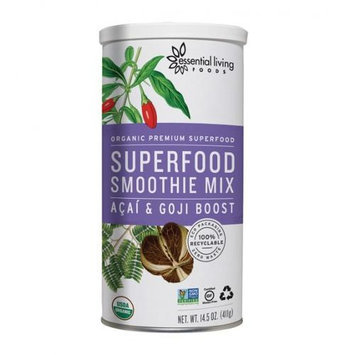 Essential Living Foods Superfood Smoothie Mix Acai & Goji 14.5 oz - Vegan