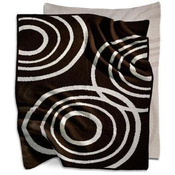 Nook Sleep Systems Organic Knit Blanket in Bark Brown
