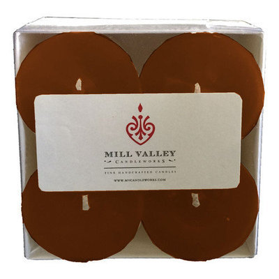 Mill Valley Candleworks Unscented Votive Candle Color: Champagne