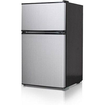 Midea Whd127fb1 Refrigerator/freezer - 3.50 Ft - Manual Defrost - Reversible - 120 V Ac - 75.20 W - Black (whd127fb1)