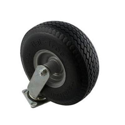 Marathon Industries 00302 10 inch Swivel Caster with Flat-Free Tire