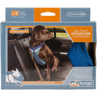 Kurgo Go-Tech Adventure Blue Dog Harness, Large