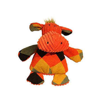 Allure Pet Products Llc Hugglehounds Chubbie Buddies Hippo Dog Toy