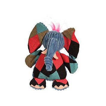 Allure Pet Products Llc Hugglehounds Chubbie Buddies Dog Toys - Elephant