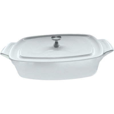 La Cuisine 0.69-qt. Rectangular Casserole Color: Cream