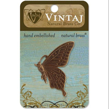 Vintaj 153759 Vintaj Metal Accent 1-Pkg-Butterfly Profile 46mm