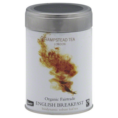 Hampstead Tea Organic Fair Trade Loose Tea English Breakfast - 3.53 oz