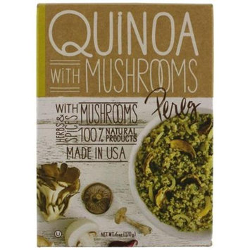 KeHe Distributors 47871 PEREG GOURMET QUINOA MUSHROOMS SM - Pack of 6 - 6 OZ