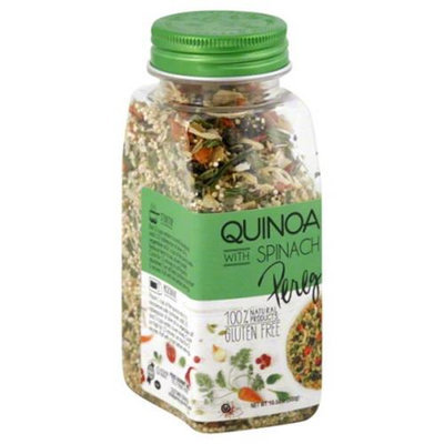 Pereg - 100 Natural Quinoa with Spinach - 10.58 oz.