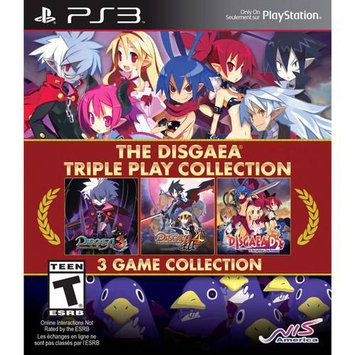 Nis America The Disgaea Triple Play Collection - Playstation 3