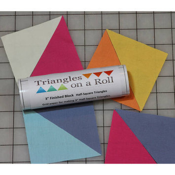 Sew On A Roll Half-Square Triangles On A Roll -50' 6