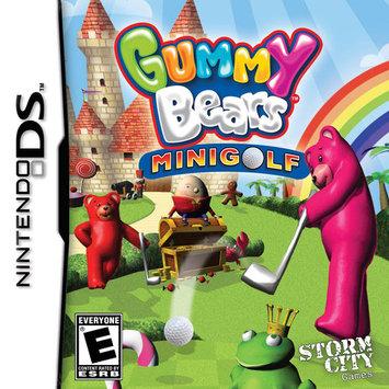 Storm City Entertainment Gummy Bears Mini Golf (Nintendo DS)