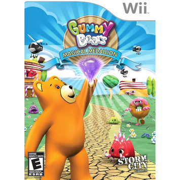 Storm City Entertainment Gummy Bears Magic Medallion (Nintendo Wii)