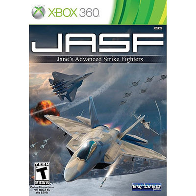 Maximum Family Gaming JASF: Jane's Advanced Strike Fighters
