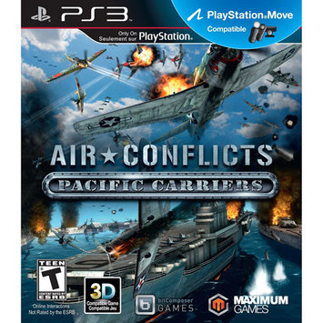 Mfg Maximum Games PS3 Air Conflict: Pacific Carrier