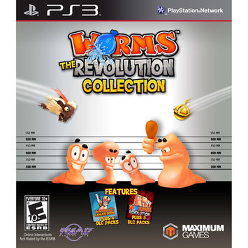Maximum Games Worms The Revolution Collection PS3