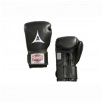 Amber Sporting Goods ABG-33002-10-B Professional Velcro Training Gloves 10oz