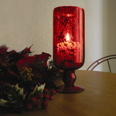 Amber Collection Amber Home Goods Garnet Collection Hurricane Large - ANC-832