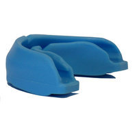 Amber Sporting Goods Power Adult Mouth Piece Case Color: Blue